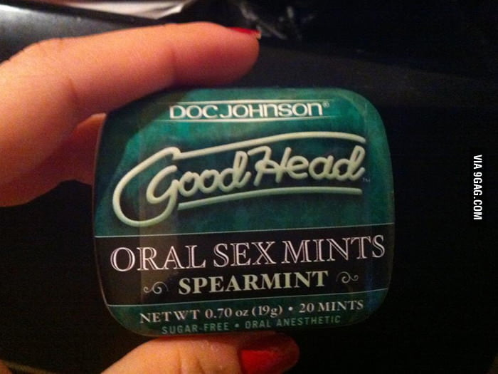 Found this Oral Sex Mints in a store today.