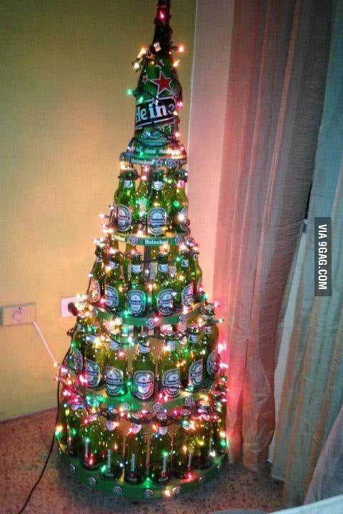 College Christmas Tree