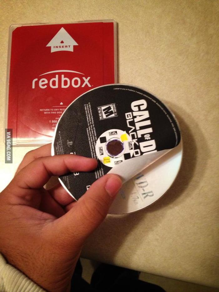 Damn you Redbox