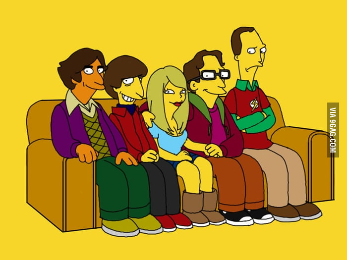 The Big Bang Theory Stars visiting the Simpsons Universe