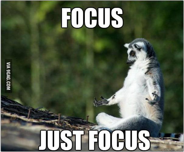 Focus.. just focus..