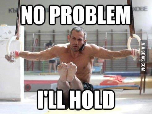 I'll hold.