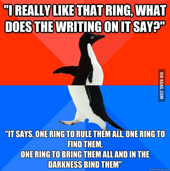 A cute girl asked me about the ring I wore around my neck.