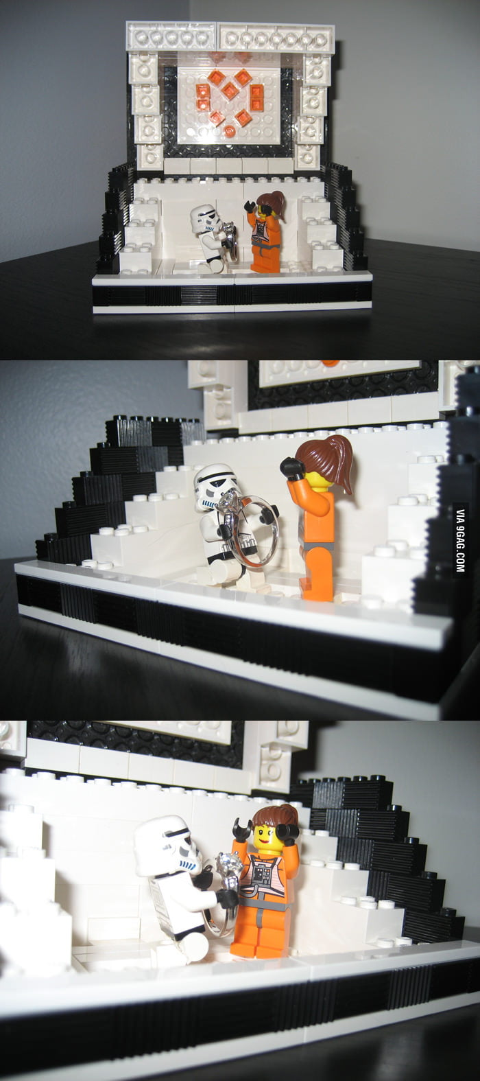 How a nerd proposes: Star Wars LEGO Proposal