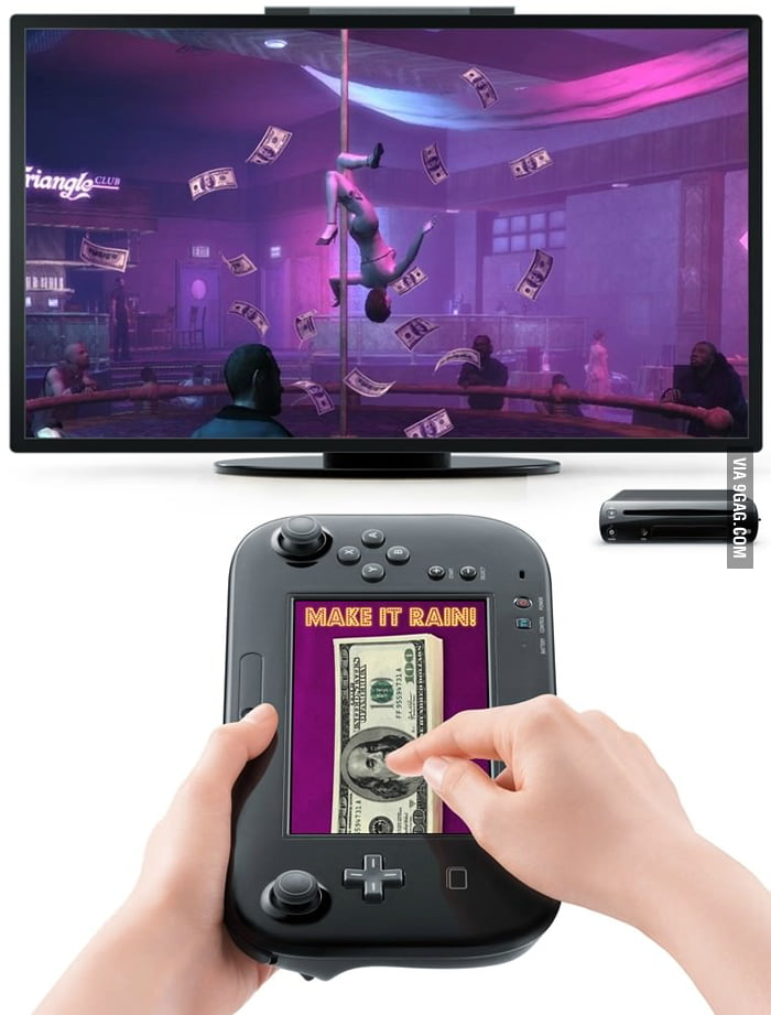 The best use of Wii U for GTA!