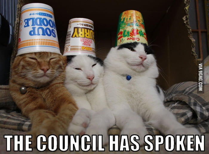The council has spoken.