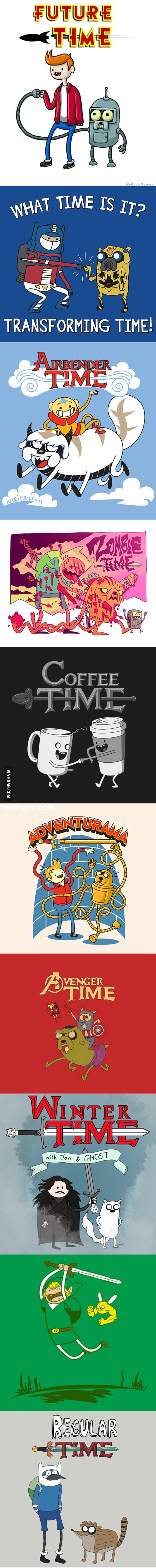 Adventure Time (mashups)