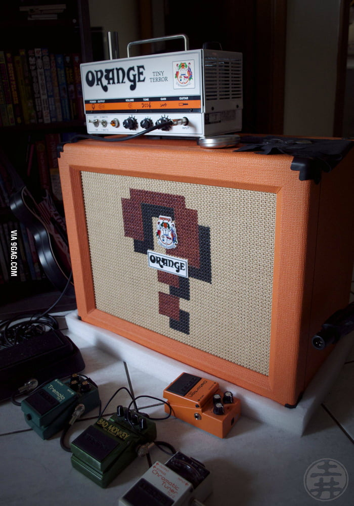 Mario Block Amplifier!