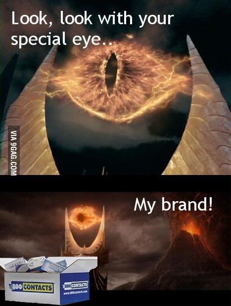 Sauron's brand.