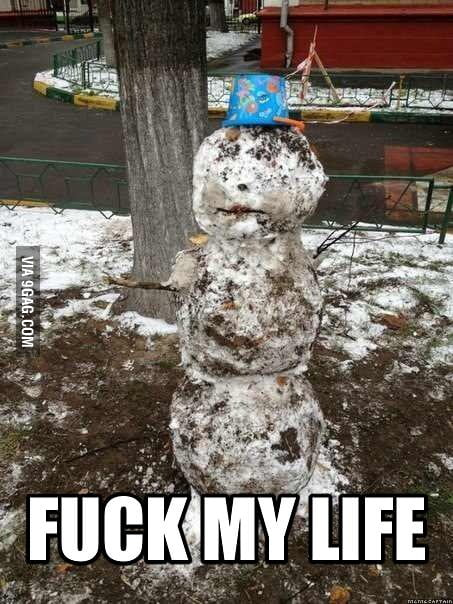 Ridiculously Miserable Snowman