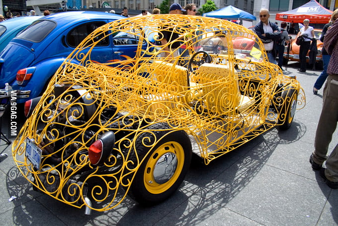 This is a cool car!