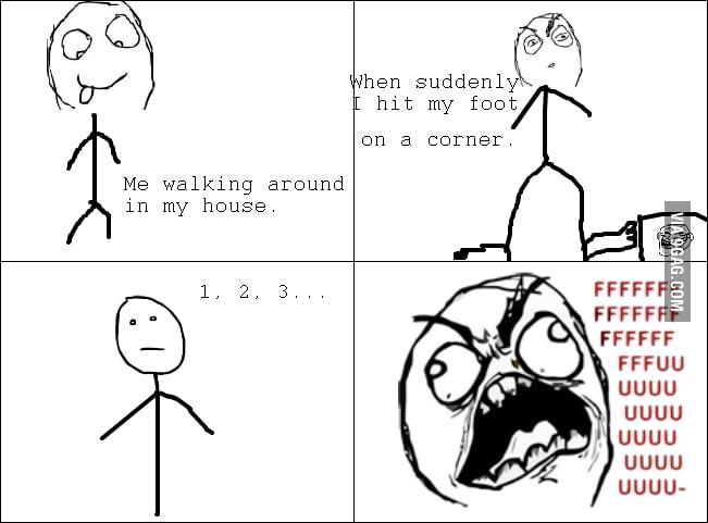 I hate it when it happens...
