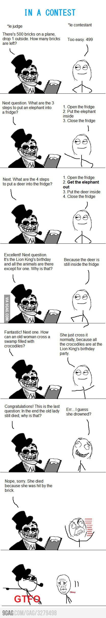 Troll Questions