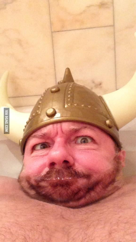 Ricky Gervais' greeting from Norway.