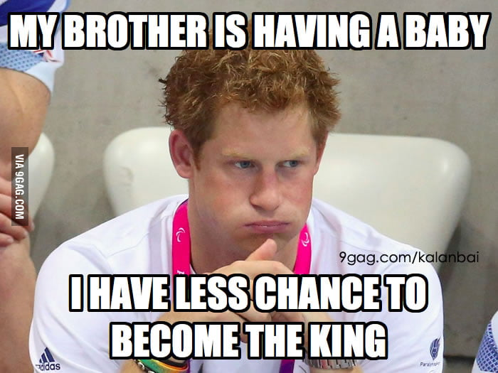Unhappy Prince Harry