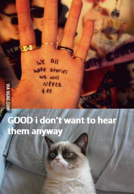 Depresive cat