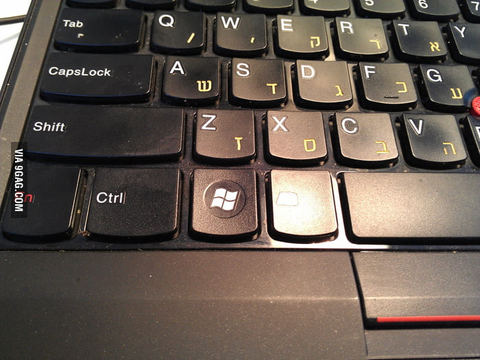 I hate my new laptop. It feels like I'm loosing Ctrl