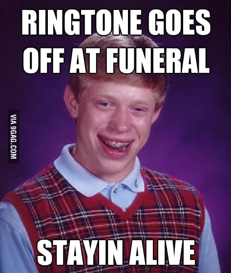 Someone finally called Bad Luck Brian!