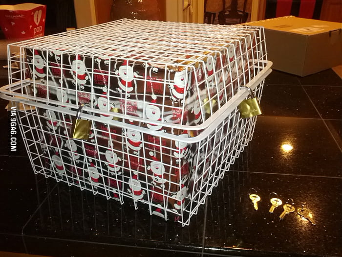 Have problem with people opening gifts early? Problem solved