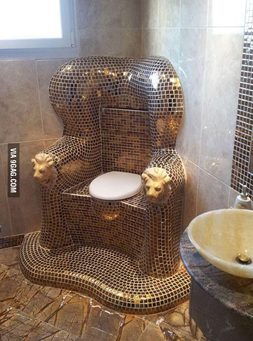 Poop like a king!