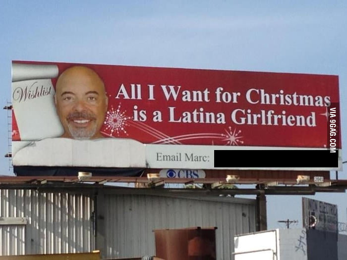 In San Diego, all I want for Christmas is a latina gf