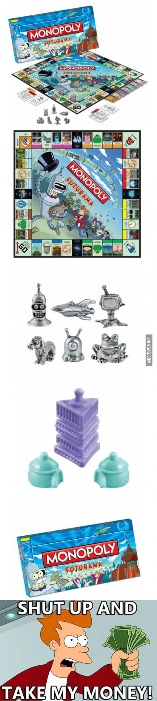 Monopoly Futurama