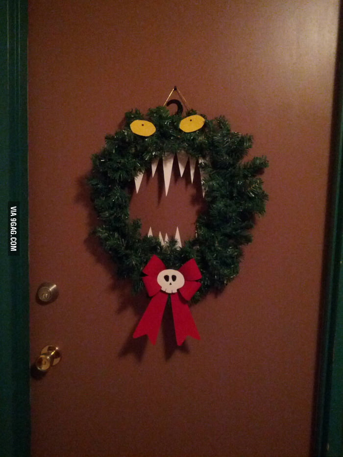 How a Pokemon fan decoreates for Christmas.