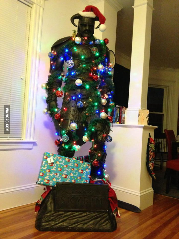 Skyrim Christmas Tree!