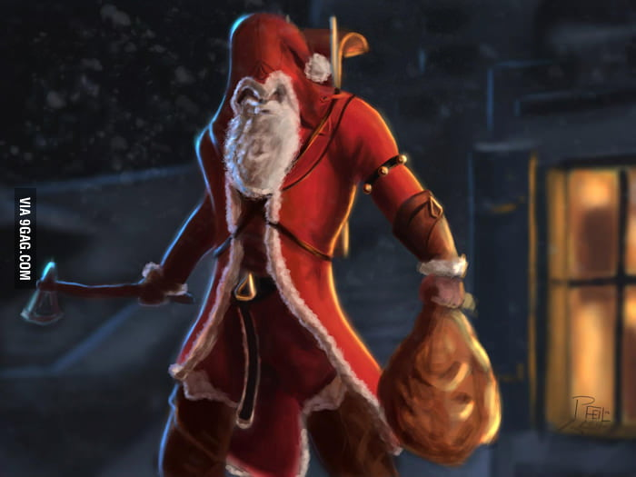 You better watch out - Santa's Creed is coming to town!