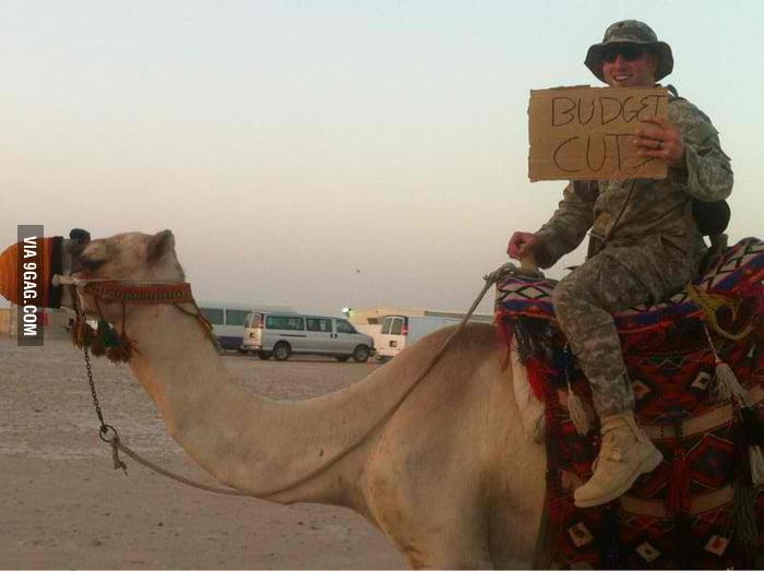 Military Budget Cut.