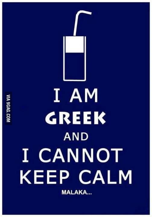 I cannot keep calm!