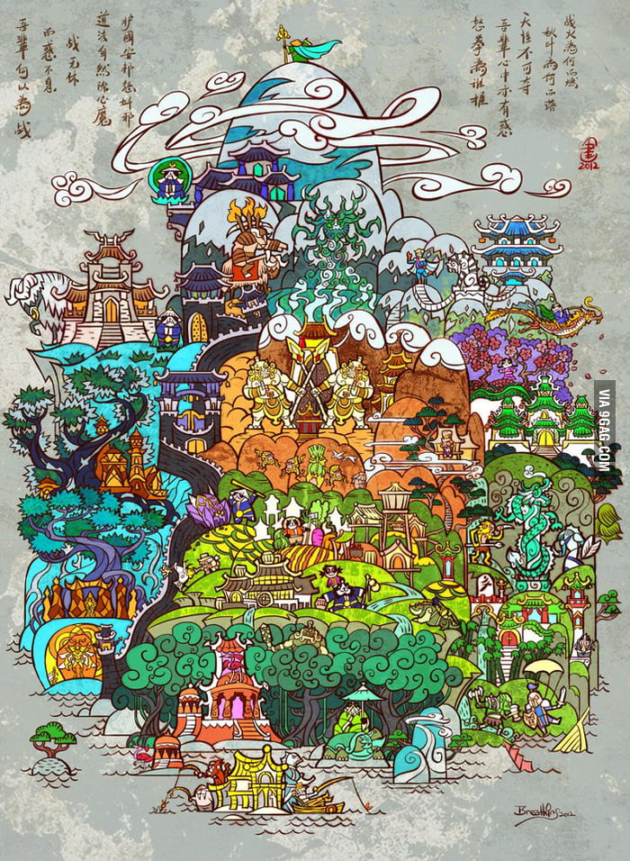World of warcraft mists of pandaria art