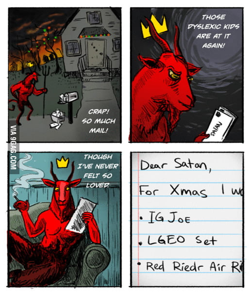 Letters to Satan