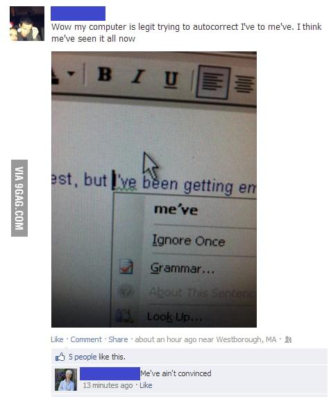 Go home grammar che