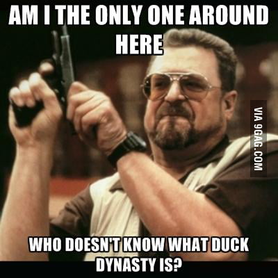 SERIOUSLY! WHAT THE DUCK?