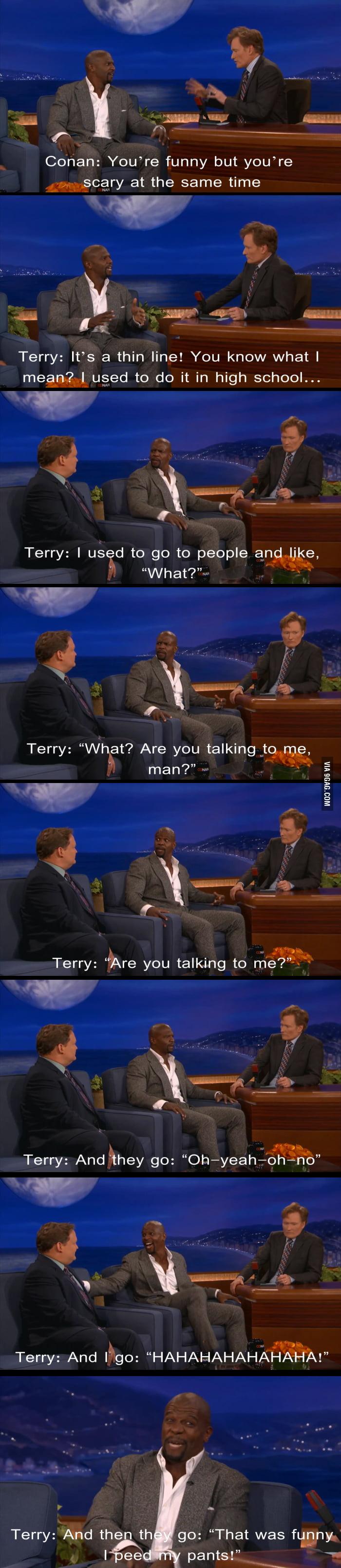 Terry Crews has Superhero Powers