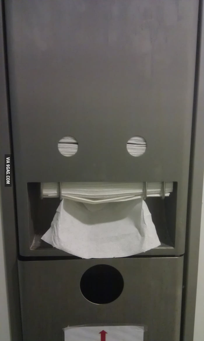 I just made this dispenser's day..
