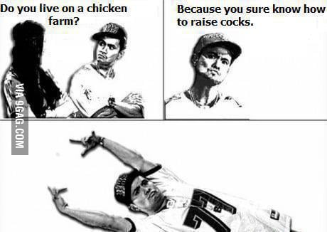 Do you live in a chicken farm?