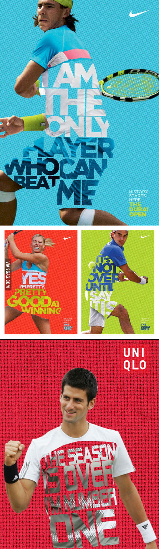 Epic Nike Tennis Posters with NOVAK