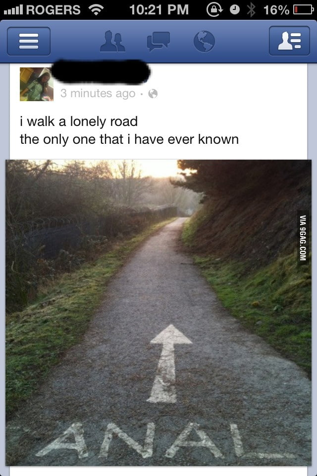 I walk a lonely road. The only road that I have ever known.