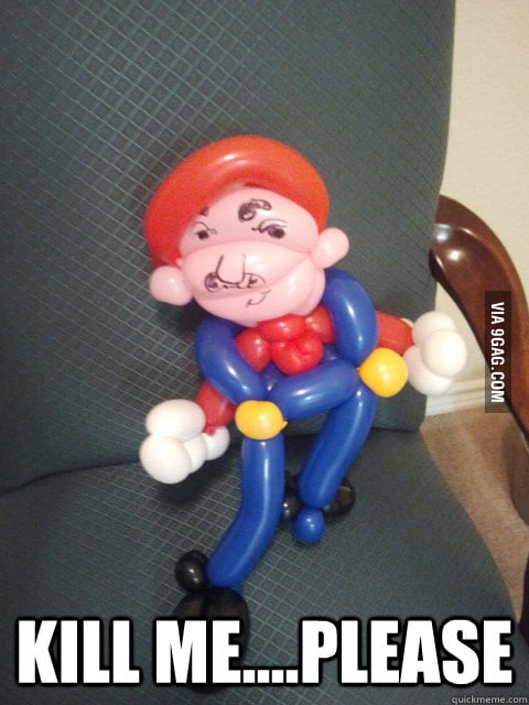 Balloon Mario.