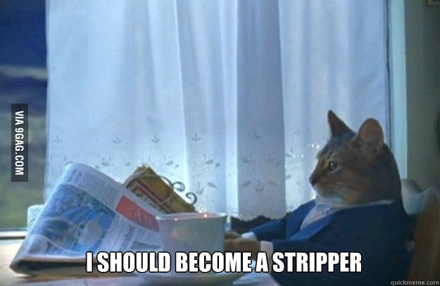 After a year of unemployment, I'm starting to think this