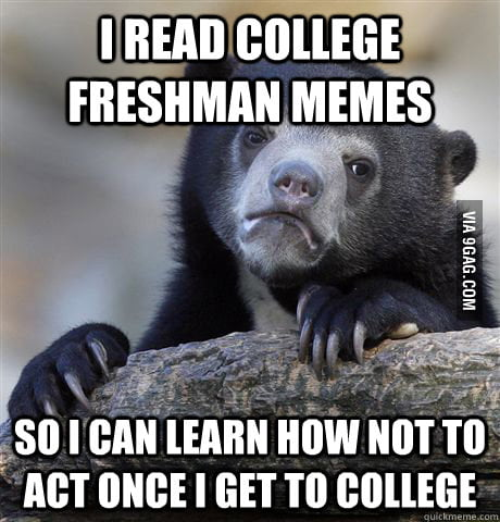 As a current high school senior.