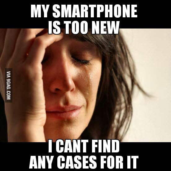 First world problems.
