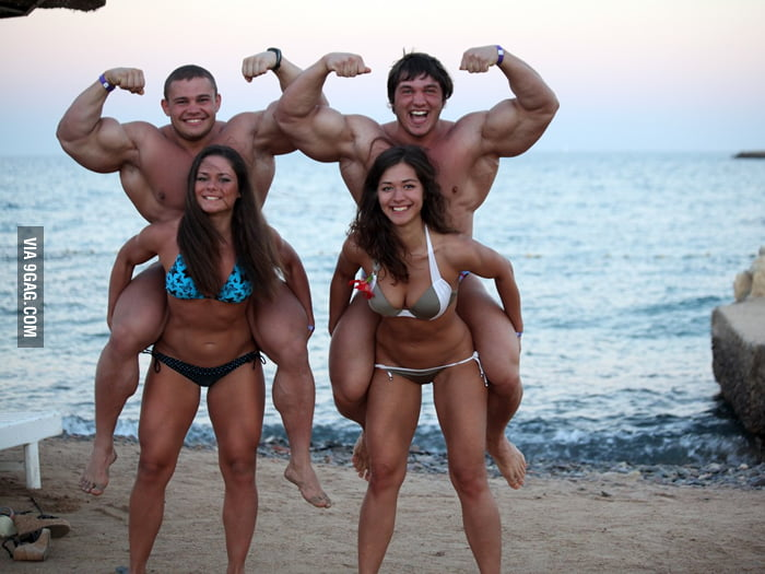 These couples are strong.