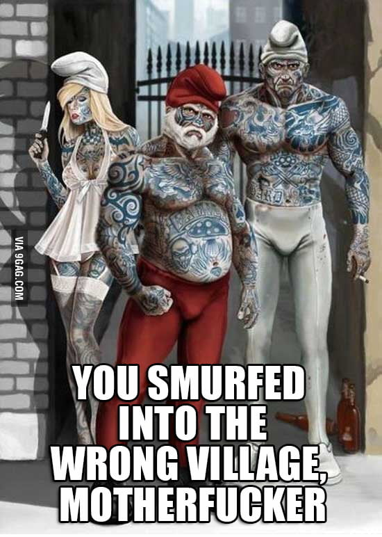 Shit Just Got Smurf