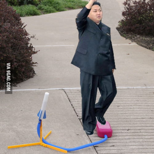 Photo from the latest North Korean rocket launch.