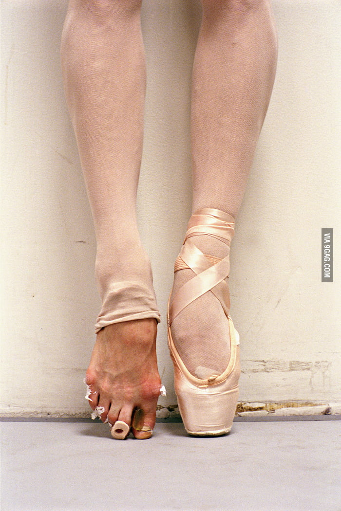 Ballet needs hard work.