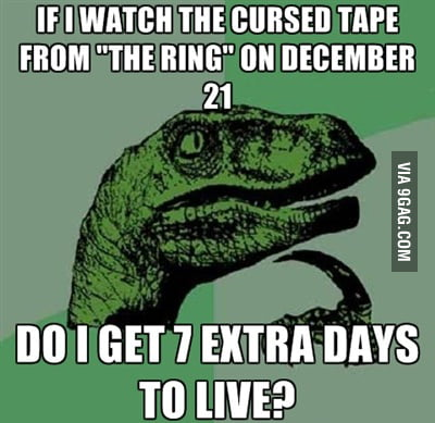 Philosoraptor on world's end