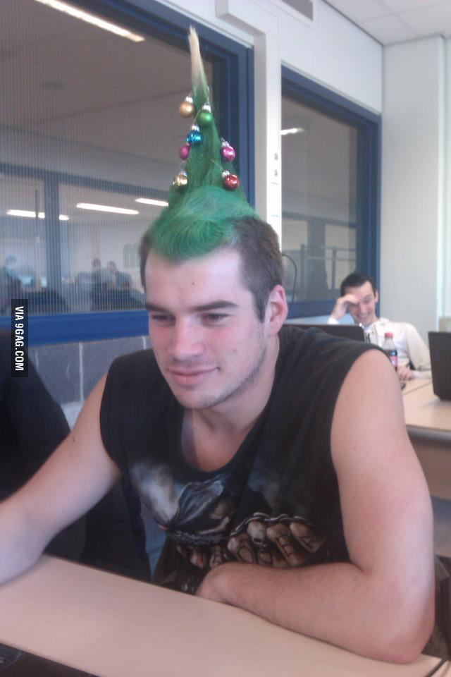 Guy walking around like this at the college